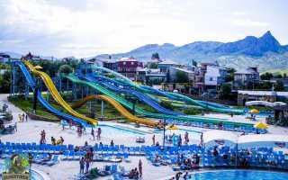 Самые популярные и большие аквапарки в Крыму