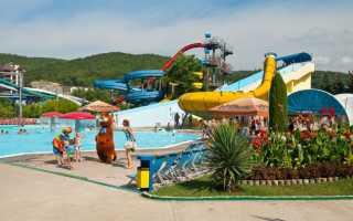 Аквапарк Дельфин в Небуге: создан для тех кто отдыхает в Туапсе