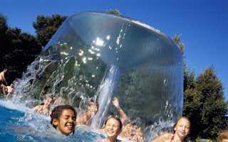 Какие аттракционы бывают в бассейнах и аквапарках